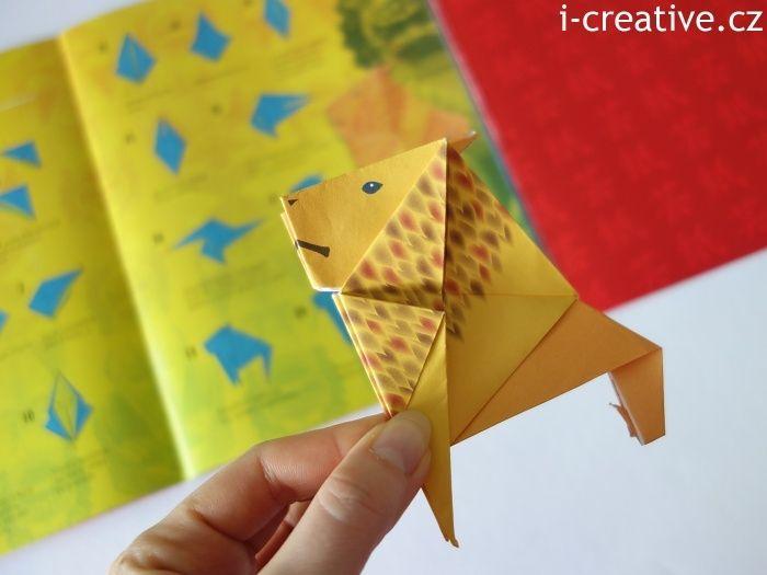 12 úžasných skládanek origami