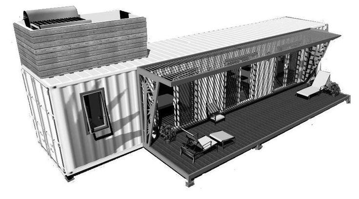 construcciones con contenedores maritimos - Buscar con Google