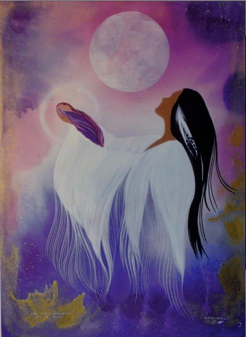red moon meaning native american - photo #12