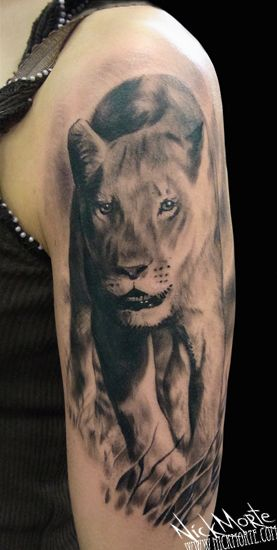 Lioness Tattoos: 45 Best Images About Lioness Tattoo On Pinterest