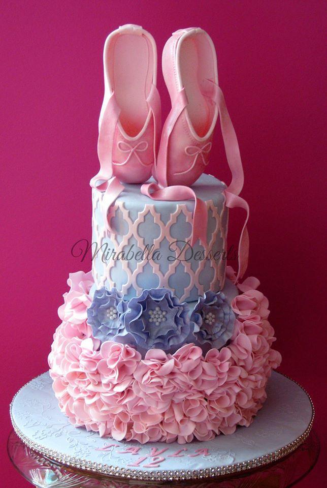 Best Ballet Images On Pinterest Ballet Cakes Ballerina - Ballet birthday cake