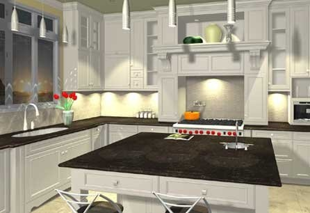 Computer rendering for client by Acadian House