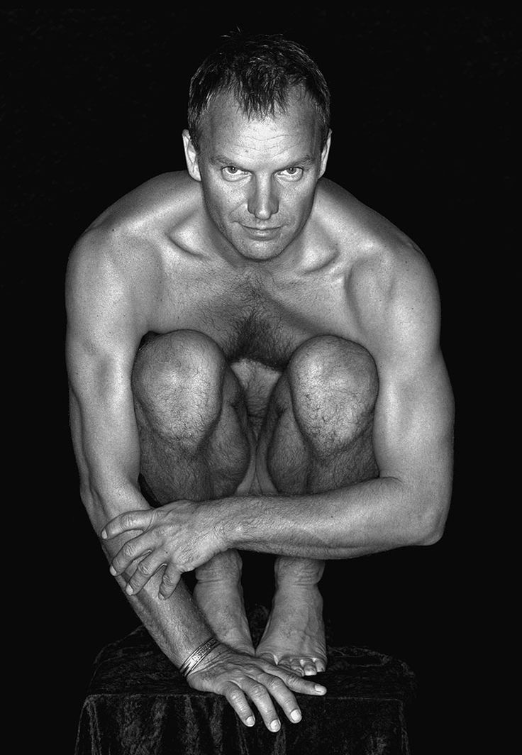 Sting by Michel Comte THIS MAN IS A MAESTRO