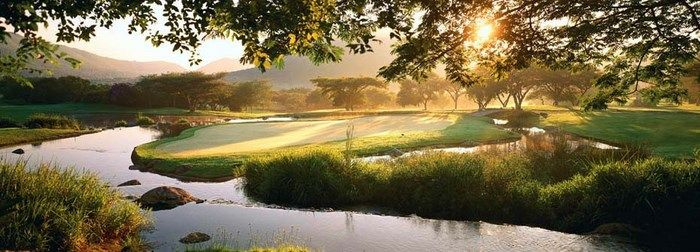 The Gary Player golf course in Sun City is one of the most  beautiful courses in Africa!