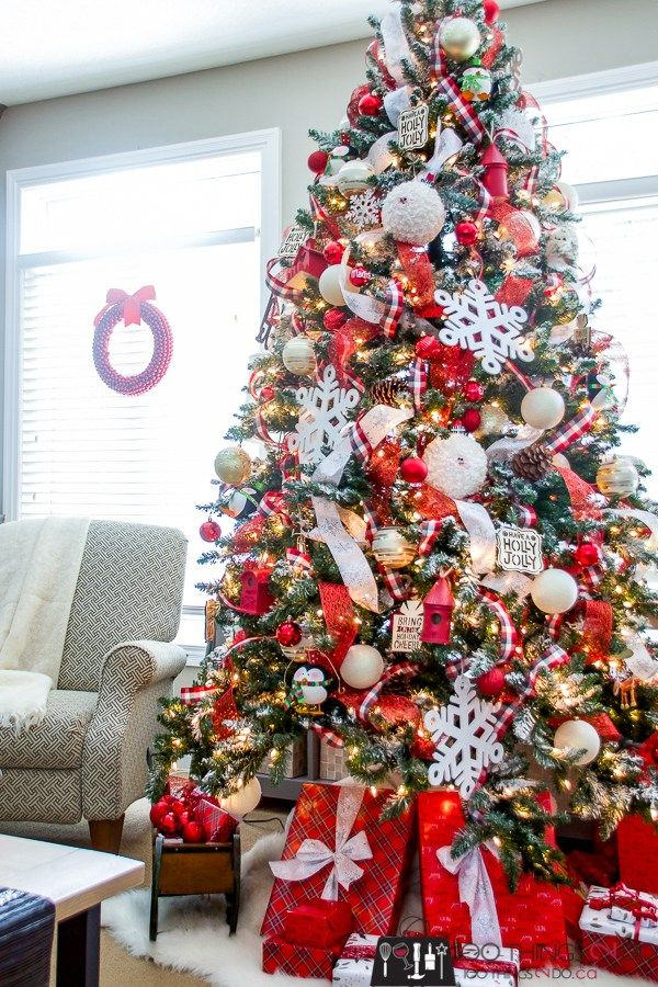 Christmas tree 2018 Christmas Farmhouse Pinterest Christmas