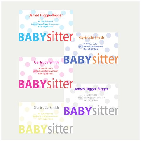 Best 25+ Babysitting flyers ideas on Pinterest Babysitting - baby sitting resume