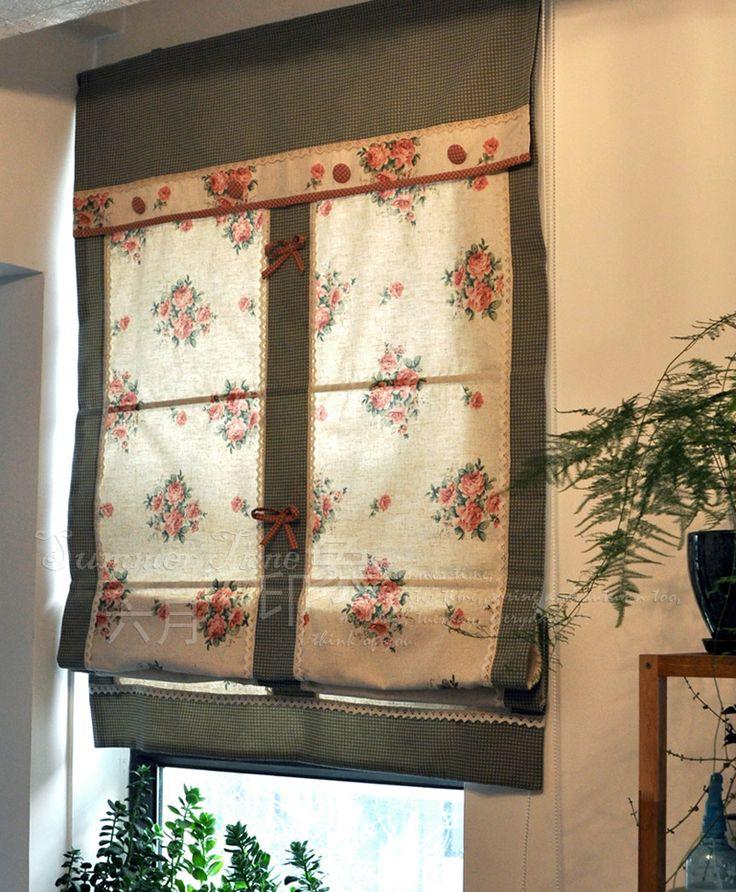 Римские шторы Европейские гардины вентилятор лифт занавес профессиональные пользовательские Остин / Виктория - Taobao