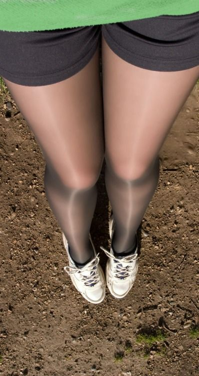 нейлон фото ног