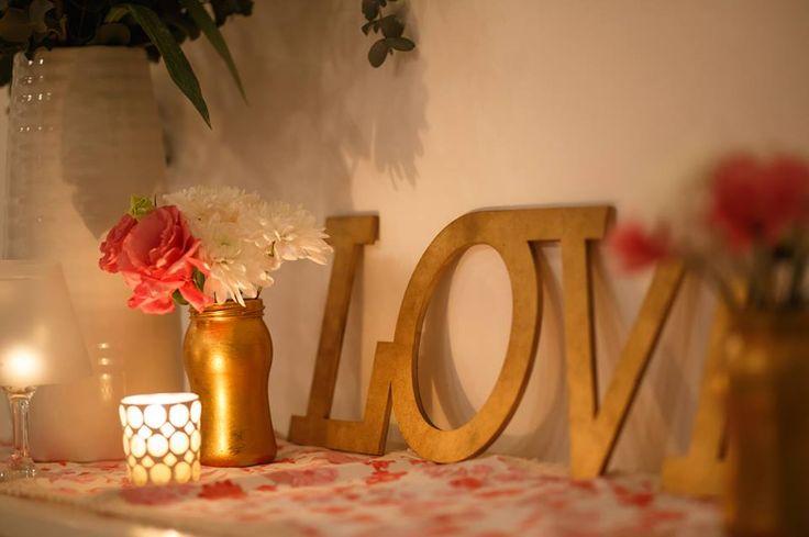 ambientacion vintage romantica