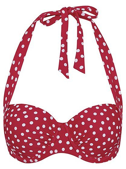 Polka Dot Multiway Bikini Top, read reviews and buy online at George at ASDA. Shop from our latest range in Women. From the pool to the beach, you'll always ...