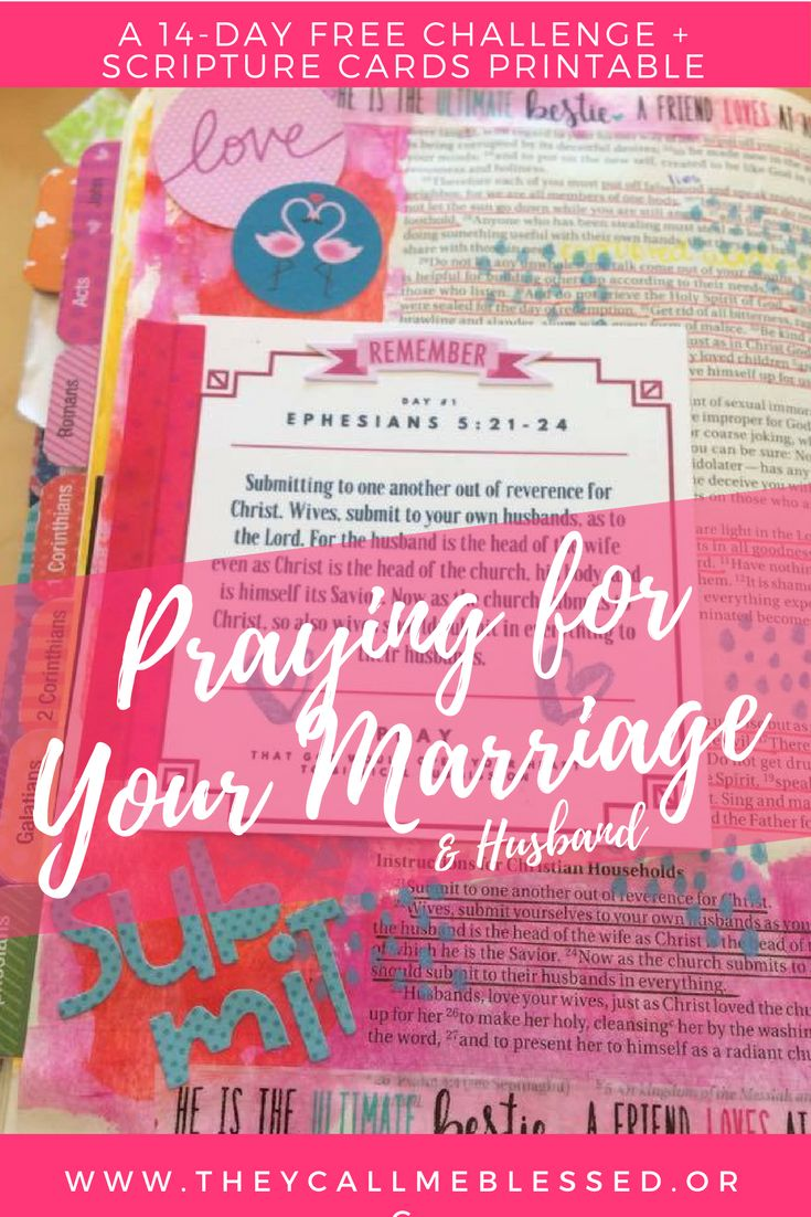 Are You Praying For Your Marriage & Husband