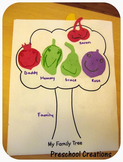 Preschool Classroom Family Tree Ideas ~ Best me my family theme pre k images on pinterest