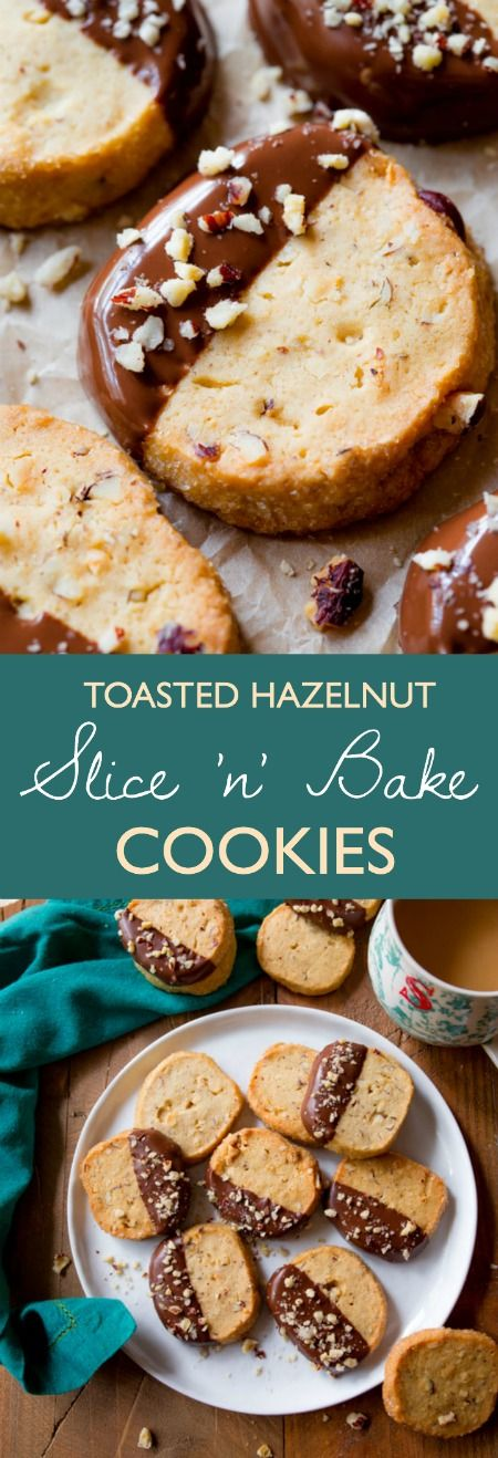 EASY and make ahead cookies with toasted hazelnuts, milk chocolate, brown sugar, and more!