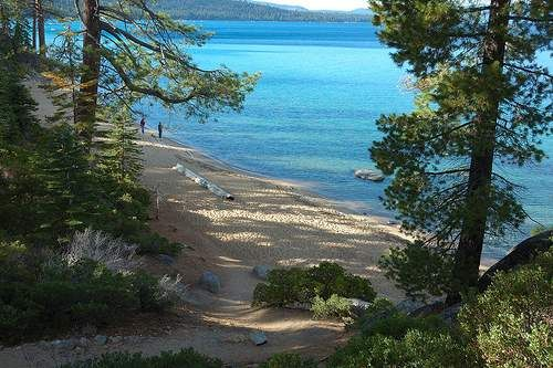 DL Bliss State Park, Lake Tahoe, CA - very fun, kid friendly hike that you get to swim at when your done.