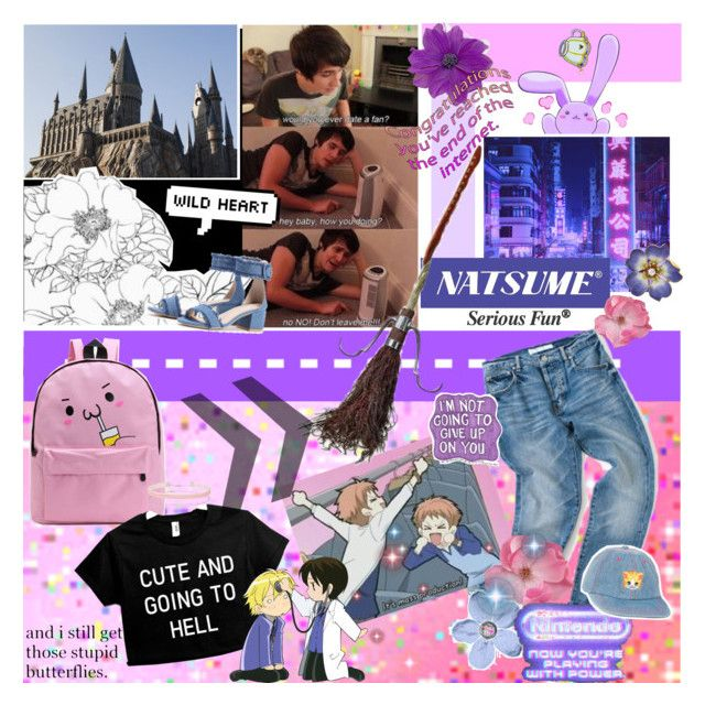 """""""i love it when you go crazy,"""" by urathugharry ❤ liked on Polyvore featuring art"""
