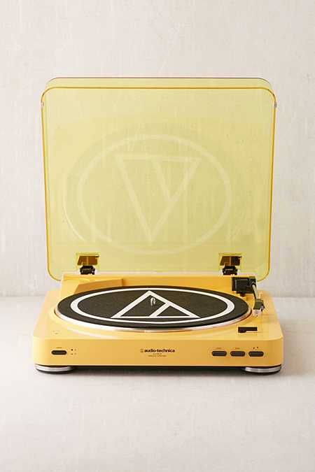 Audio-Technica X UO Mellow Yellow AT-LP60 Bluetooth Record Player
