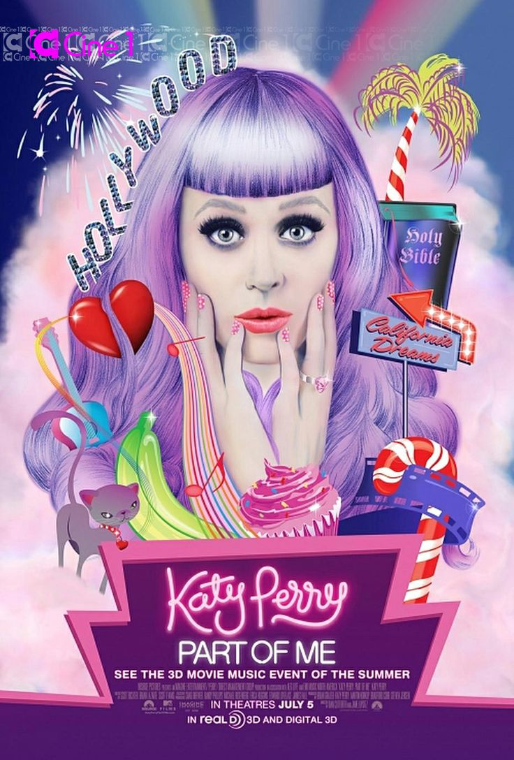 Katy Perry Poster   NOTD: Katy Perry part of me movie