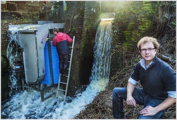 Turbulent : une turbine qui produit de l'électricité sans ennuyer les poissons
