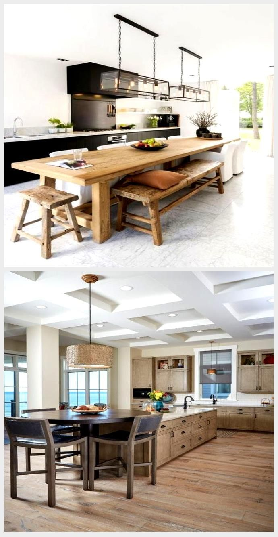 Diy Kitchen Island Narrow Dining Tables 53+ Ideas, #Dining ...
