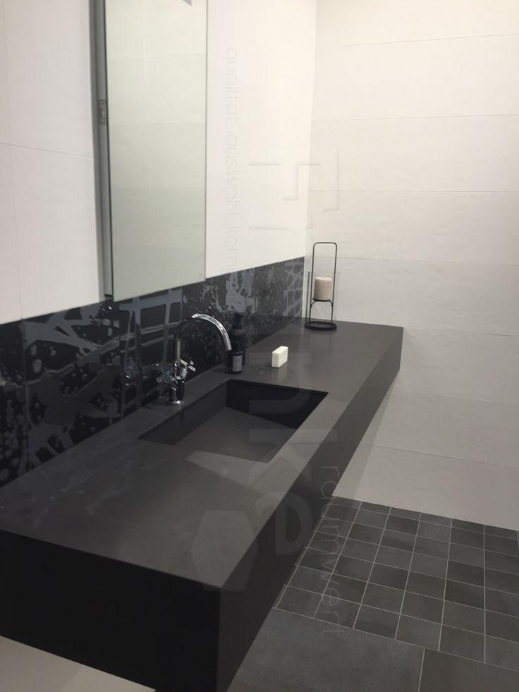 ... #interieur #bathinterior #hausbau #massivhaus #weiß #spiegel  #waschbecken #beton #schiefer #marmor #neuheit #messe #cevisama #gästebad  #traumbad #master ...
