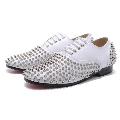 CHRISTIAN LOUBOUTIN Mocasines blanco