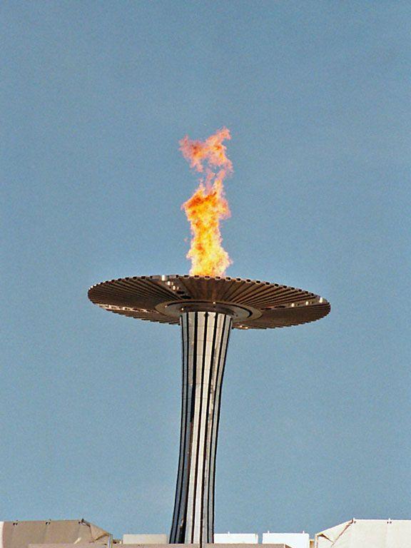 Olympic Cauldron - Sydney, Australia -  2000 Summer Olympic Games