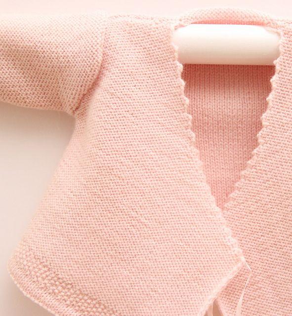 Ravelry: Wrap cardigan pattern by Florence Merlin