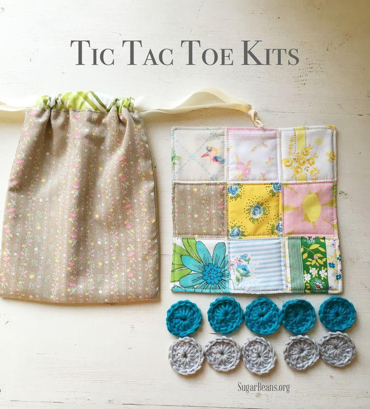 Tic Tac Toe Kits. SugarBeans.org