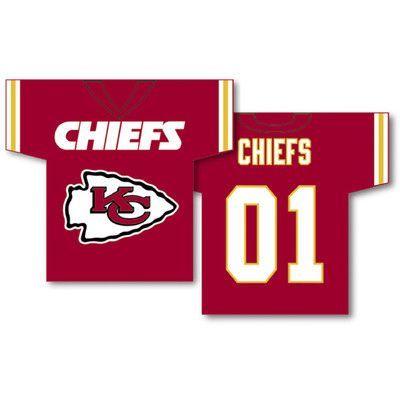 Fremont Die NFL Jersey 2-Sided Banner NFL Team: Kansas City Chiefs