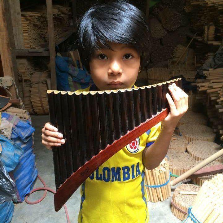 Flute Panflute Woodwind Musicinstrument Pan Flute Woodwind Flute