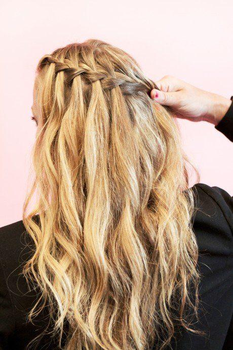 braid-hair-tutorial-waterfall-4 #hair  I WILL learn how to do this ;)