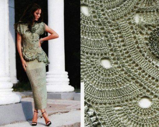 Irish crochet &: FREEFORM SKIRT + BLOUSE ... ФРИФОРМ ЮБКА + БЛУЗА