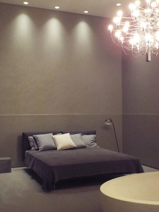 #resina anche in camera . #pavimento #rivestimento www.stanzedautore.it