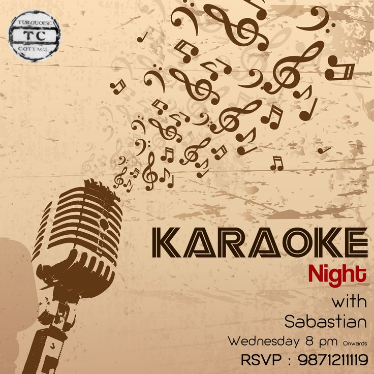 Besides the fact that you get to sing favorite ‪#‎songs‬, you can enjoy some fabulous food while ‪#‎partying‬ with us. ‪#‎KaraokeNight‬ ‪#‎Wednesday‬ #Delhi #TurquoiseCottage #Party #Nightlife