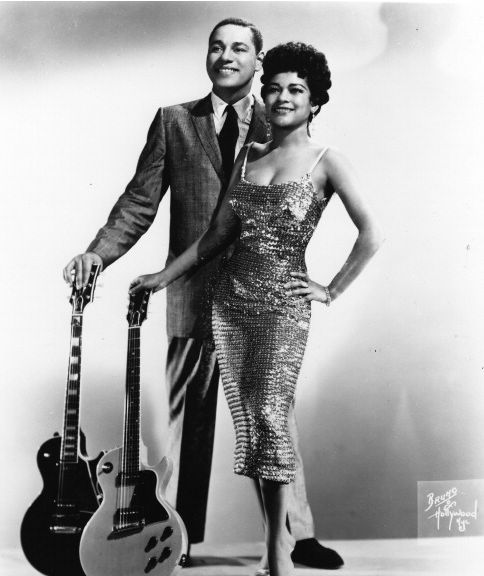 Mickey Baker and Sylvia Vanderpool Robinson (Mickey and Sylvia), 1956