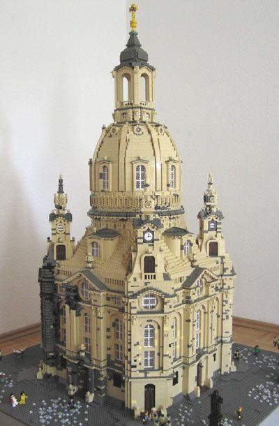 Legos Church in  Dresden, Germany