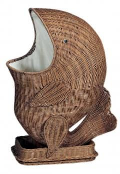 Rattan Fish Hamper Laundry Hampers Bath HomeDecorators com - Stylehive