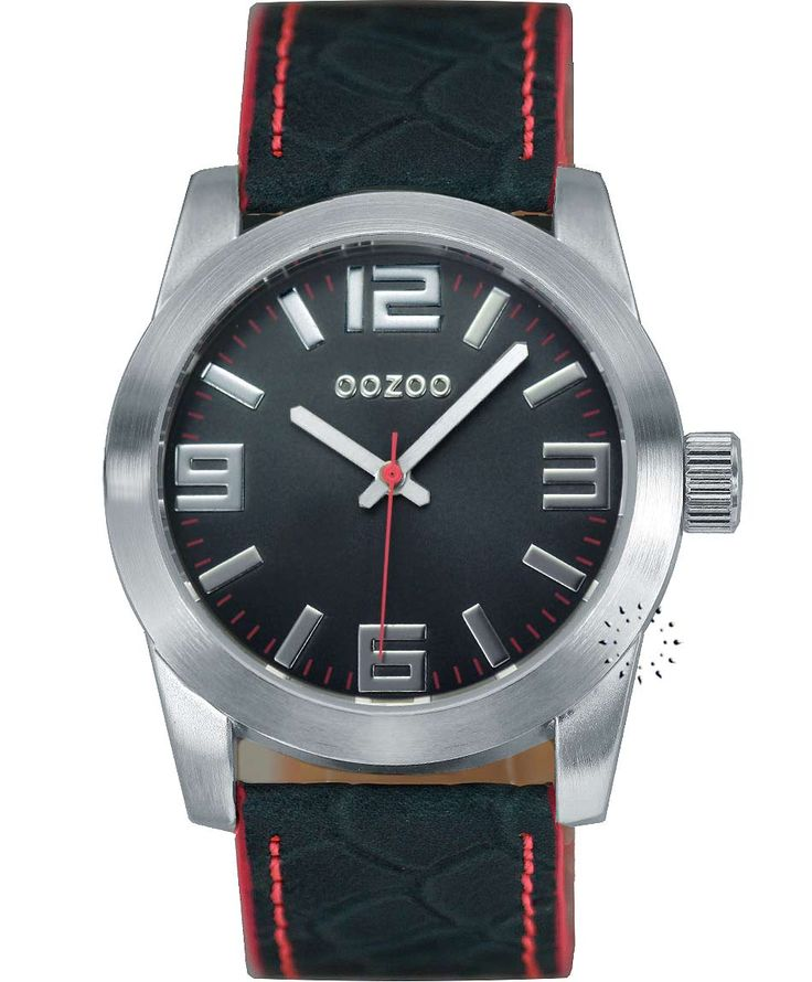 OOZOO Small Τimepieces Dark Green Leather Strap Η τιμή μας: 69€ http://www.oroloi.gr/product_info.php?products_id=34631