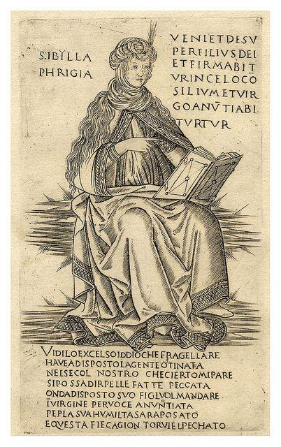 Sibila Frigia. Francesco Roselli, 1480-90
