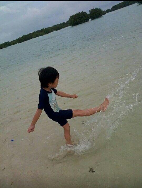 "Virgin beach ""pantai perawan"""