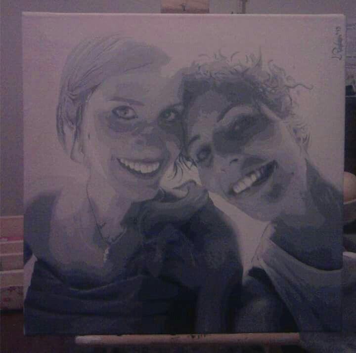 #Portrait #sister #family #familyday #blackandwhite