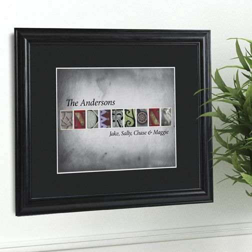 31 best Personalized Wall Art images on Pinterest | Family ...