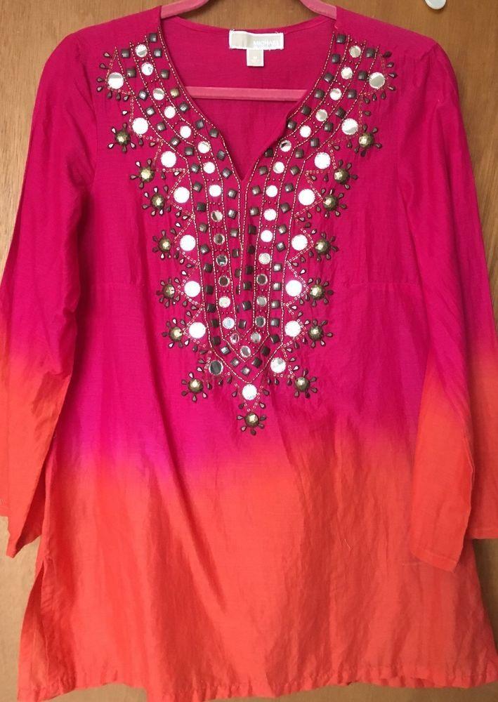Michael Kors Pink Womens Top #MichaelKors #Tunic