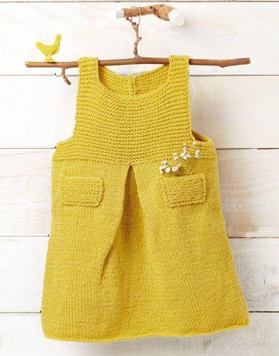 Revista bebé Babystories 4 Otoño / Invierno   25: Bebé Vestido   Amarillo