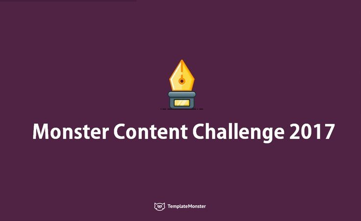 ✏️ Write Unique and Catching Articles? Let Your Talent Bring You Success & Money! 💰 Join Our Monster Content Challenge & Get the Best Writers' Award🏆 - https://mcc.templatemonster.com/