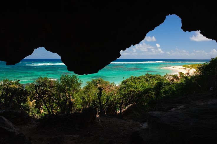 https://flic.kr/p/rpnX3b | Two Foot Bay, Barbuda, 2015 | Looking out from the caves towards the beach at Two Foot Bay, Barbuda.