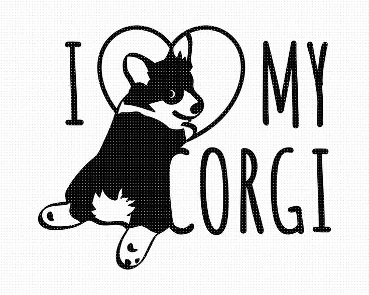 Download I Love My Corgi SVG I Love Corgis SVG I Love My Dog SVG ...