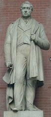 George Stephenson who was the prolific builder of the first trains at the end of the Regency Era