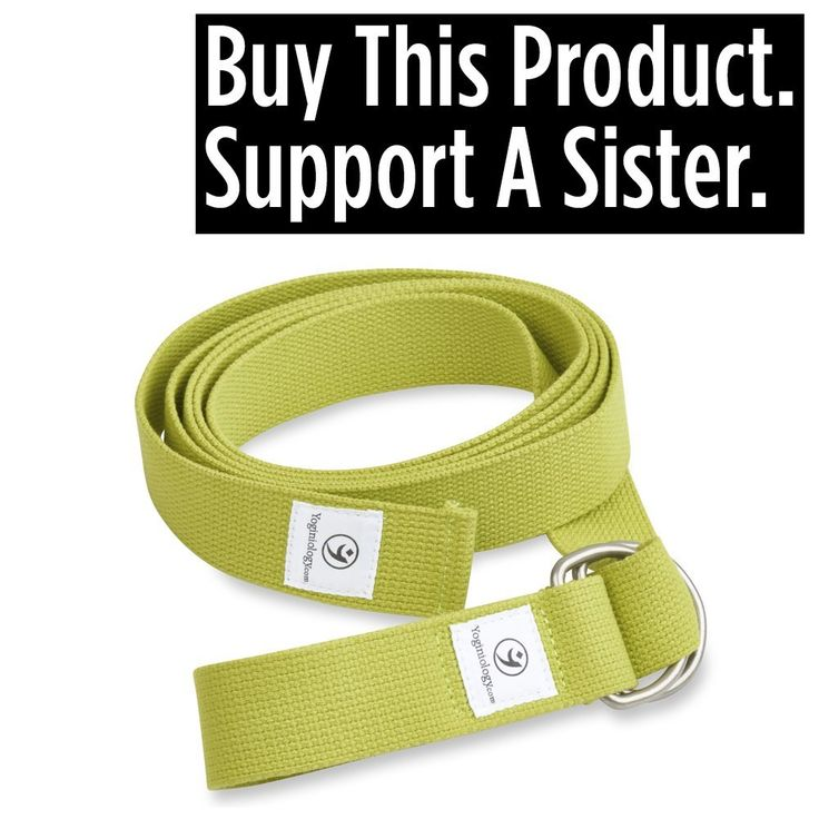 THE Yoga Strap 8 Foot, Best Band for Stretching, Flexibility, Physical Therapy, Balance, Pilates, Exercise Fitness Workout, Premium Soft Cotton with Cinch Metal D Ring Belt Buckle Loops, Extra Long Harness Props Equipment - 100% Guaranteed. >>> Remarkable product available now. : Yoga Weightloss
