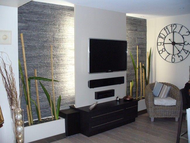 bleu ardoise composez votre dcoration intrieure et extrieure avec lardoise pierre naturelle - Idee Deco Salon Avec Mur Pierre